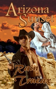 Arizona Sunset cover for Kindle version